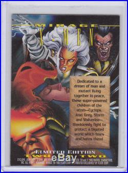 1995 HTF Marvel Masterpieces X-men MIRAGE Insert Card L2 RARE! Wolverine