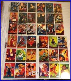 1995 Marvel Fleer Ultra X-Men Metal 176 cards