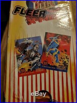 1995 Marvel Fleer Ultra X-Men sealed Gravity Retail Jumbo card box UBER RARE