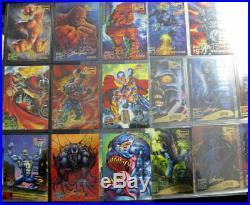 1995 Marvel Masterpieces E-Motion RARE 104 Card Lot Near Emotion Set Fleer X-Men