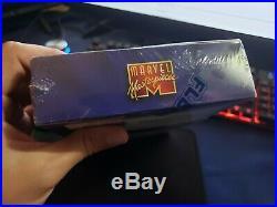 1995 Marvel Masterpieces Factory Sealed Box & 1996 Fleer X-Men & Universe 3 box