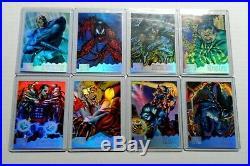 1995 Marvel Masterpieces HOLOFLASH Chase Set (8) Very Rare