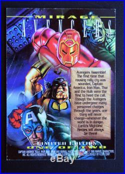 1995 Marvel Masterpieces Mirage cards set