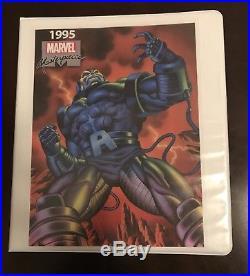 1995 Marvel Masterpieces Set Base/Canvas/Holoflash