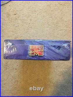 1995 Marvel Masterpieces Trading Cards SEALED UNOPENED BOX 36 Packs! Fleer
