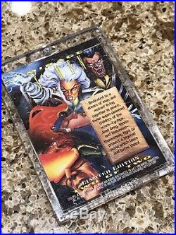 1995 Marvel Masterpieces X-MEN MIRAGE Card Extremely Rare SEE DESCRIPTION