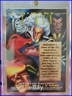 1995 Marvel Masterpieces X Men Mirage Card 2 Of 2 NM Extremely Rare
