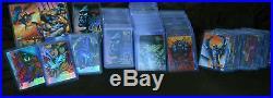 1995 Marvel Masterpieces (set) Base /E-motion /Holoflash /Canvas /promo
