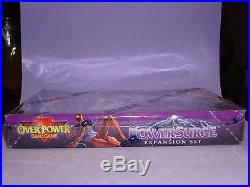 1995 Overpower Marvel Powersurge Factory Sealed Booster Box Rare