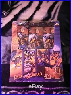 1995 marvel masterpieces box