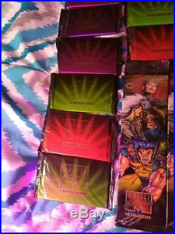 1995 marvel masterpieces packs