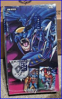 1996 Amalgam Comics Sealed Trading Card Box DC Marvel