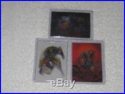 1996 Fleer Ultra X-Men Wolverine MOTION/MORPH/MIRAGE Set of 3 Cards Marvel RARE