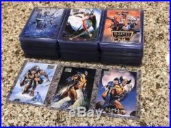1996 MARVEL MASTERPIECES Boris & Julie COMPLETE 100 CARD BASE SET NM/M