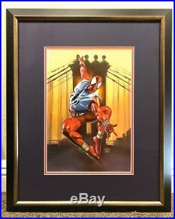1996 MARVEL MASTERPIECES ORIGINAL ART PAINTING 1/1 Scarlet Spider By Julie Bell