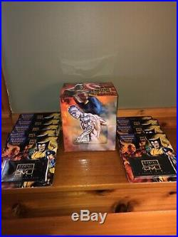 1996 Marvel Masterpieces 9 Sealed Packs in original display box