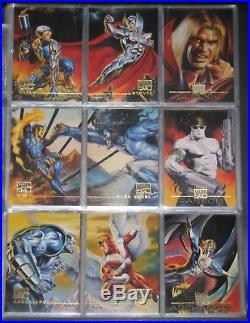 1996 Marvel Masterpieces BASE Set of 100 Cards NM/M Vallejo, Bell RARE
