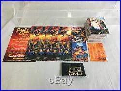1996 Marvel Masterpieces COMPLETE BASE & Promo SET Lot