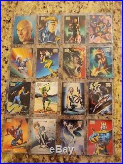 1996 Marvel Masterpieces Complete Base Set