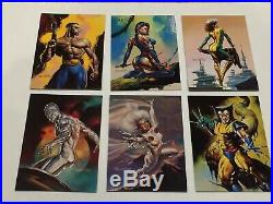 1996 Marvel Masterpieces DOUBLE IMPACT SET ALL 6 MINT