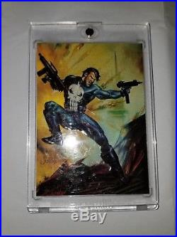 1996 Marvel Masterpieces Double Impact 2 of 6 Punisher Psylocke