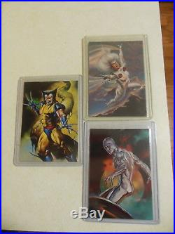 1996 Marvel Masterpieces Double Impact Set 1-6 Julie Bell Boris Vallejo