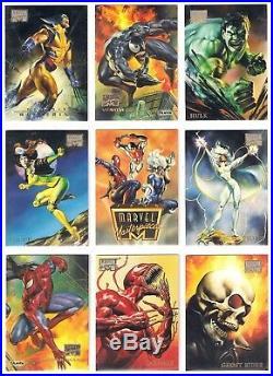 1996 Marvel Masterpieces Nm/mt Set (100) Rare