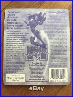 1996 Marvel Masterpieces Sealed Pack