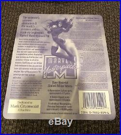 1996 Marvel Masterpieces Sealed Pack Of 7 Cards. 1996 Fleer Skybox