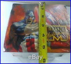 1996 Marvel Masterpieces Sealed Wax Box