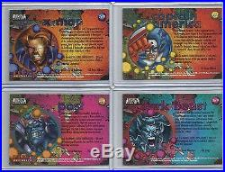 1996 Marvel Onslaught PREVIEW CARD Complete Set of 9 Promo Cards (1-9) VHTF