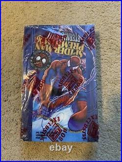 1996 Marvel Spider-Man Premium Eternal Evil Trading Cards SEALED BOX 36 Packs