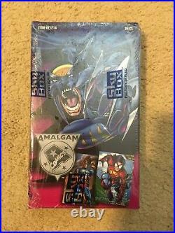 1996 Marvel vs DC Comics Amalgam Trading Cards SEALED BOX 24 Packs! SkyBox