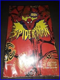1997 Rare Marvel Fleer Ultra Spider-man Trading Cards Hobby 48 Pack Box Sealed