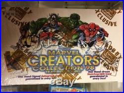 1998 Fleer Skybox Marvel Creators 98 Collection Trading Cards Hobby Box Sealed