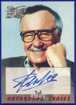 1998 Marvel Silver Age #A1 Stan Lee Auto