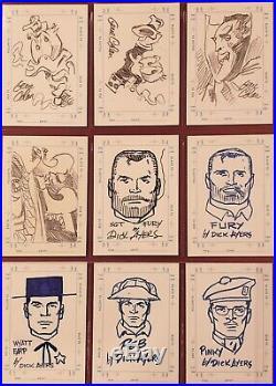 1998 Marvel Silver Age & Creators Collection Sets (25) Sketchagraphs (32) Autos
