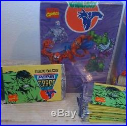 1 BOX SEALED MARVEL PEPSI CARDS (1995) PUERTO RICO/ Collector TRESURE