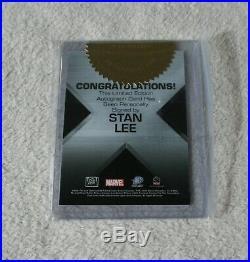2006 Marvel Rittenhouse Stan Lee AUTO Autograph X-Men The Last Stand