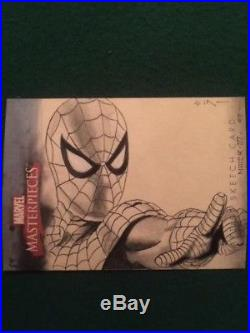 2007 MARVEL MASTERPIECES Spider-Man SKETCH CARD 1/1