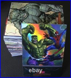 2007 Marvel Masterpieces Foil Parallel Comic Trading Card Set, X Men