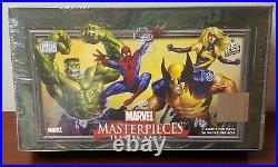 2007 Marvel Masterpieces Series 1 Trading Cards SEALED BOX, 36 Packs! Upper Deck