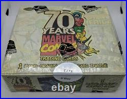 2010 Rittenhouse 70 Years of Marvel Comics Trading Cards Box Factory Sealed