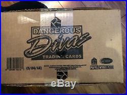 2011 Rittenhouse Marvel Dangerous Divas Series 1 sealed case (12 boxes)