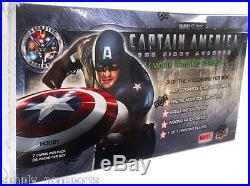 2011 UD MARVEL CAPTAIN AMERICA TRADING CARD BOX Factory SEALED hobby BOX