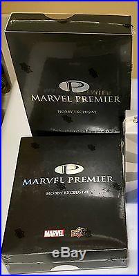 2012 Upper Deck Marvel Premier Factory Sealed Hobby Box RARE