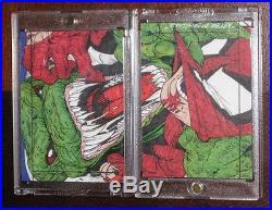 2013 Marvel Fleer Retro SPIDER-MAN vs. LIZARD 2-Piece Sketch Card Set Chadwick H