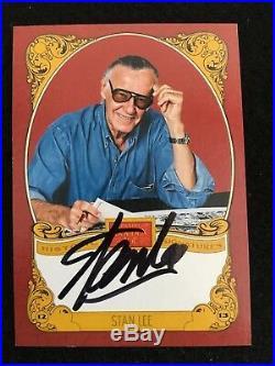 2013 Stan Lee Historic Auto Autograph Golden Age Card Signature Marvel 100% Auth