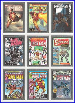 2013 Upper Deck Near Set Marvel Iron Man 3 Comic Creator Autographs 10 Cards Lee