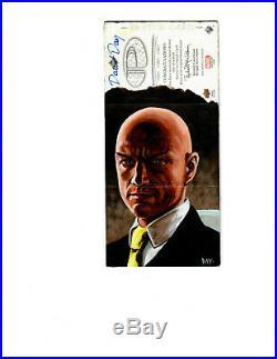 2014 MARVEL PREMIER UPPER DECK sketch card by David Day Dr Strange/ Prof X